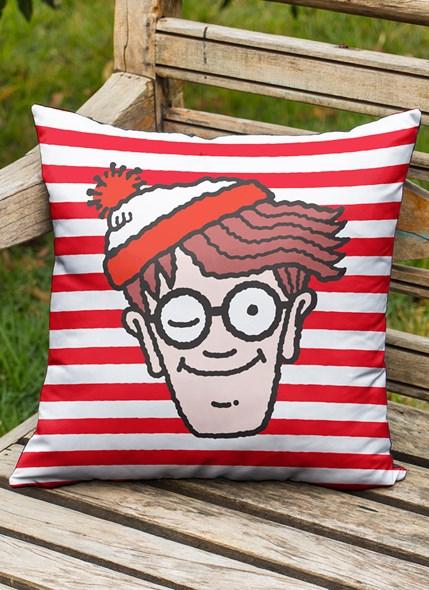 Almofada Onde está Wally? Face