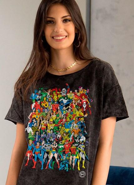 Camiseta Ampla DC Comics Originals