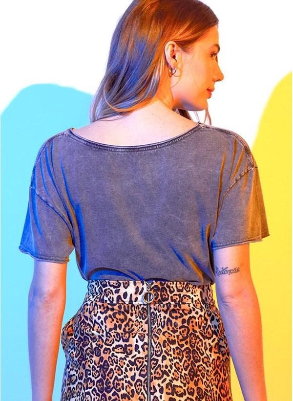 Camiseta Ampla Mulher Maravilha 1984 Cheetah Garras