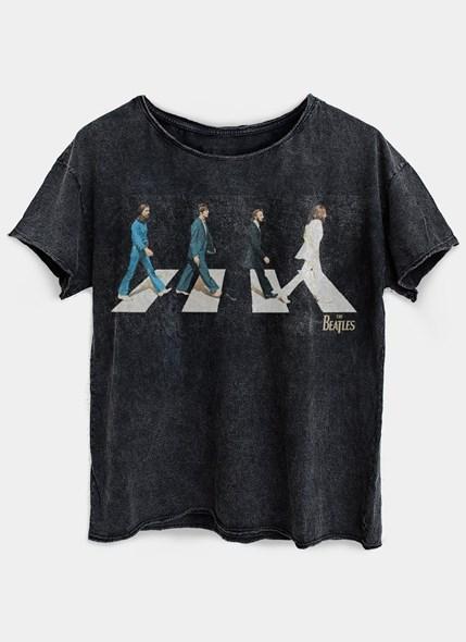 Camiseta Ampla The Beatles Abbey Road