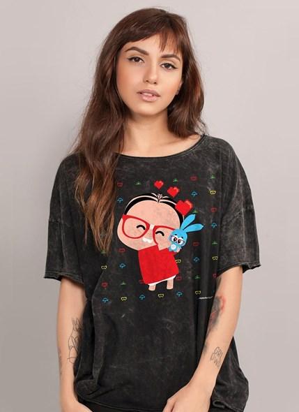 Camiseta Ampla Turma da Mônica Loving Toy