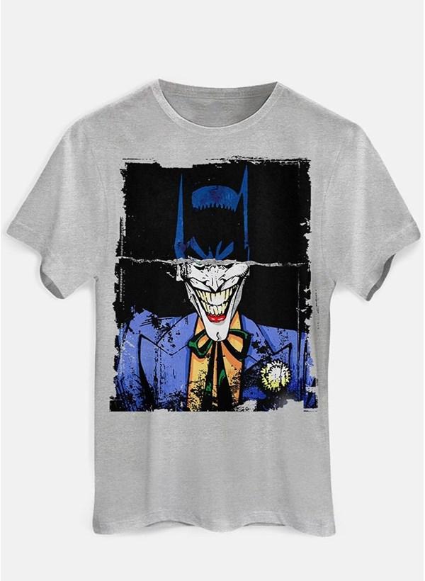 Camiseta Batman e Coringa Faces