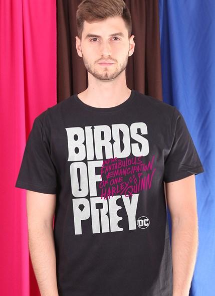Camiseta Birds of Prey Logo - Aves de Rapina