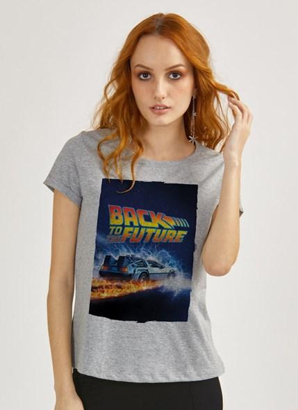 Camiseta De Volta para o Futuro Delorean