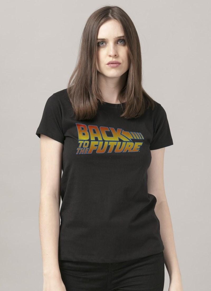Camiseta De Volta para o Futuro Logo