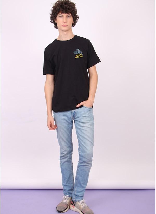 Camiseta Esquadrão Suicida King Shark Danger