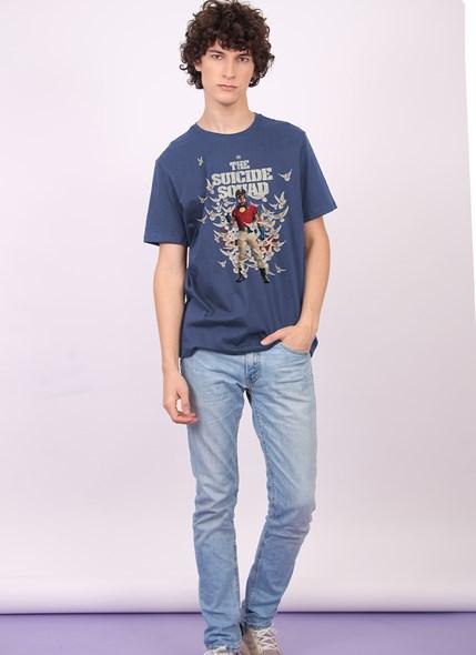 Camiseta Esquadrão Suicida Peacemaker