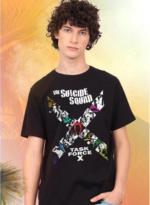 Camiseta Esquadrão Suicida Task Force X