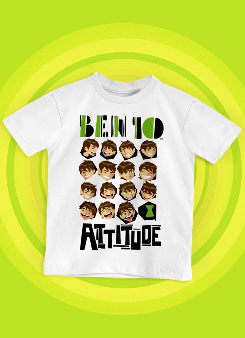 Camiseta Infantil Ben 10 Attitude