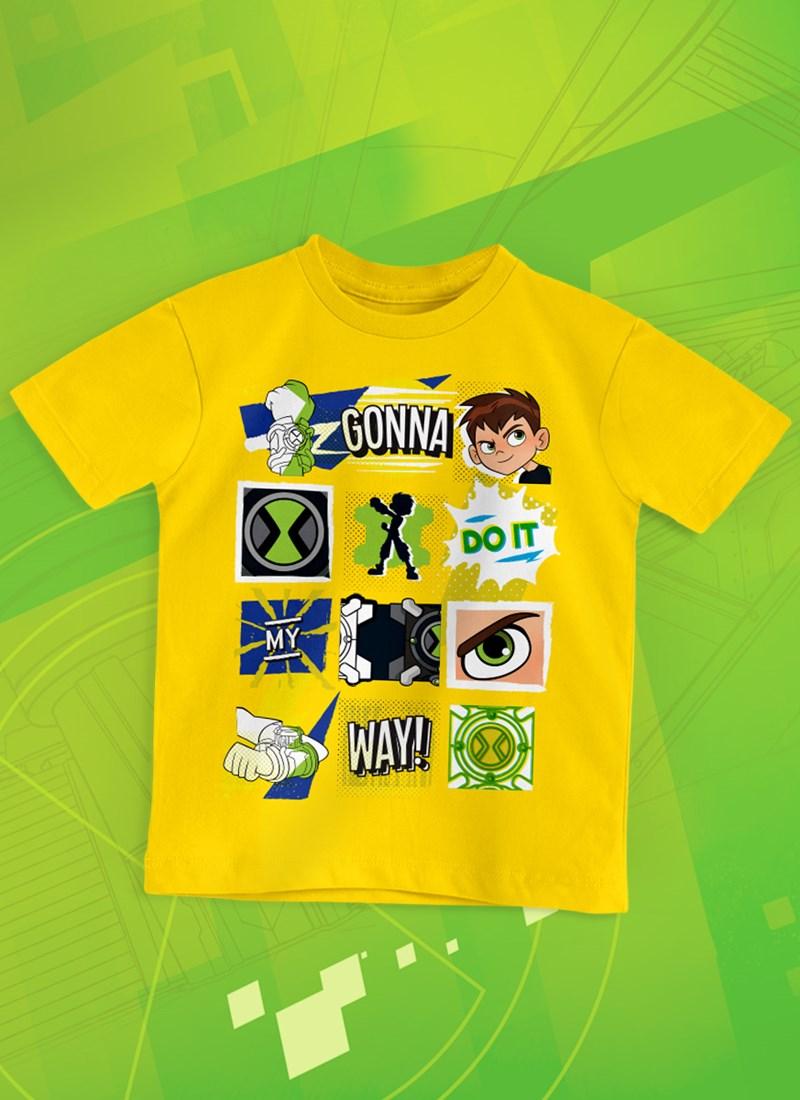 Camiseta Infantil Ben 10 Gonna Way