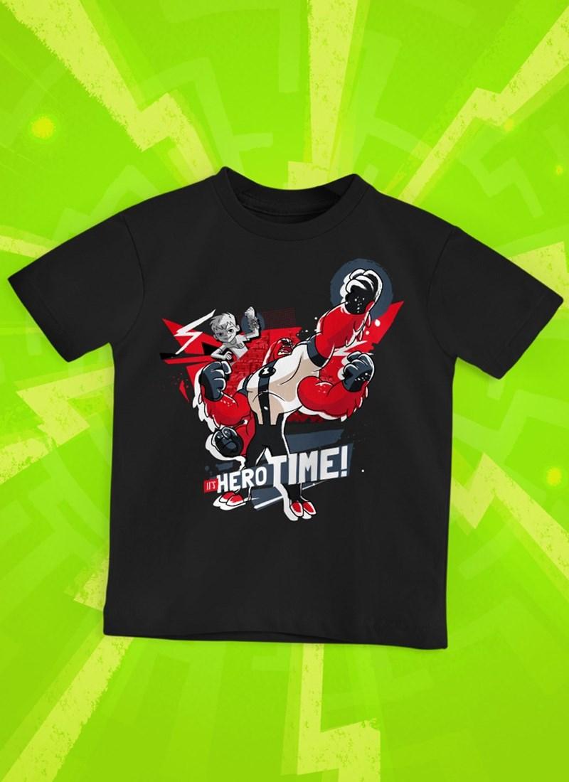 Camiseta Infantil Ben 10 Hero Time