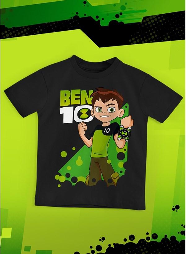 Camiseta Infantil Ben 10 Poster