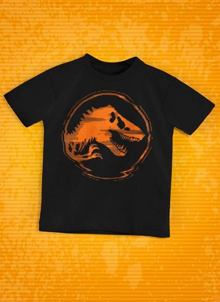 Camiseta Infantil Jurassic World 3D