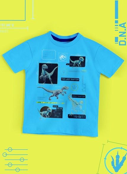 Camiseta Infantil Jurassic World DNA