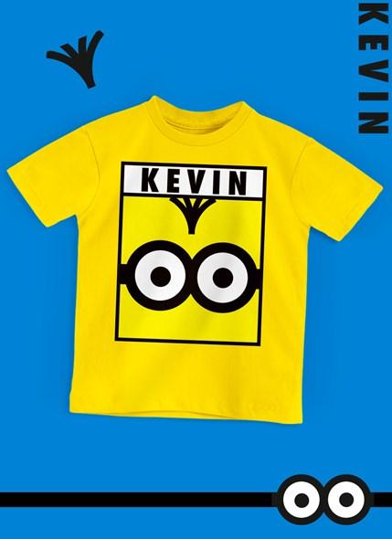 Camiseta Infantil Minions Kevin