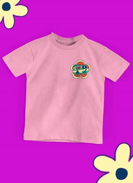 Camiseta Infantil Scooby! Daphne The Heart