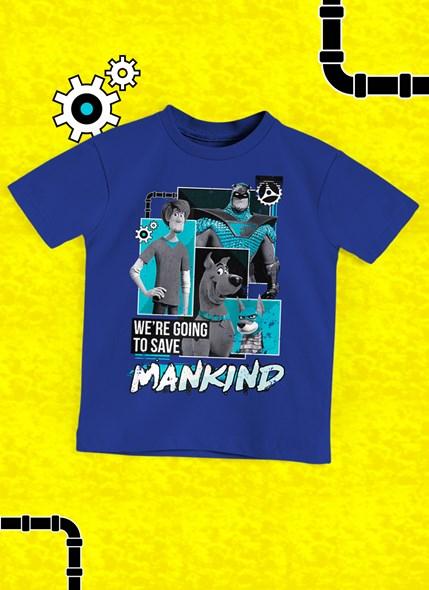 Camiseta Infantil Scooby! Mankind