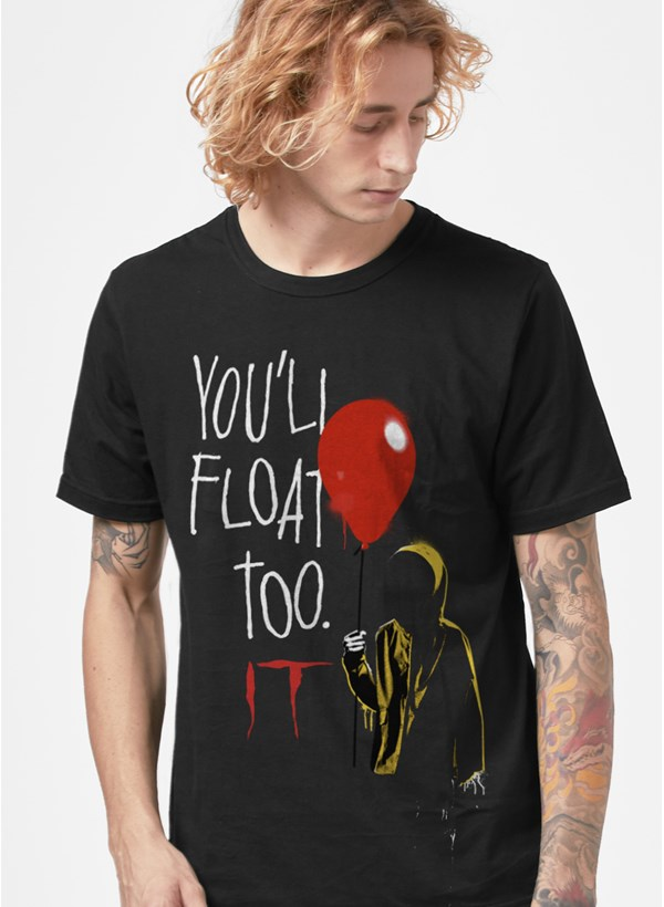 Camiseta IT A Coisa You'll Float Too