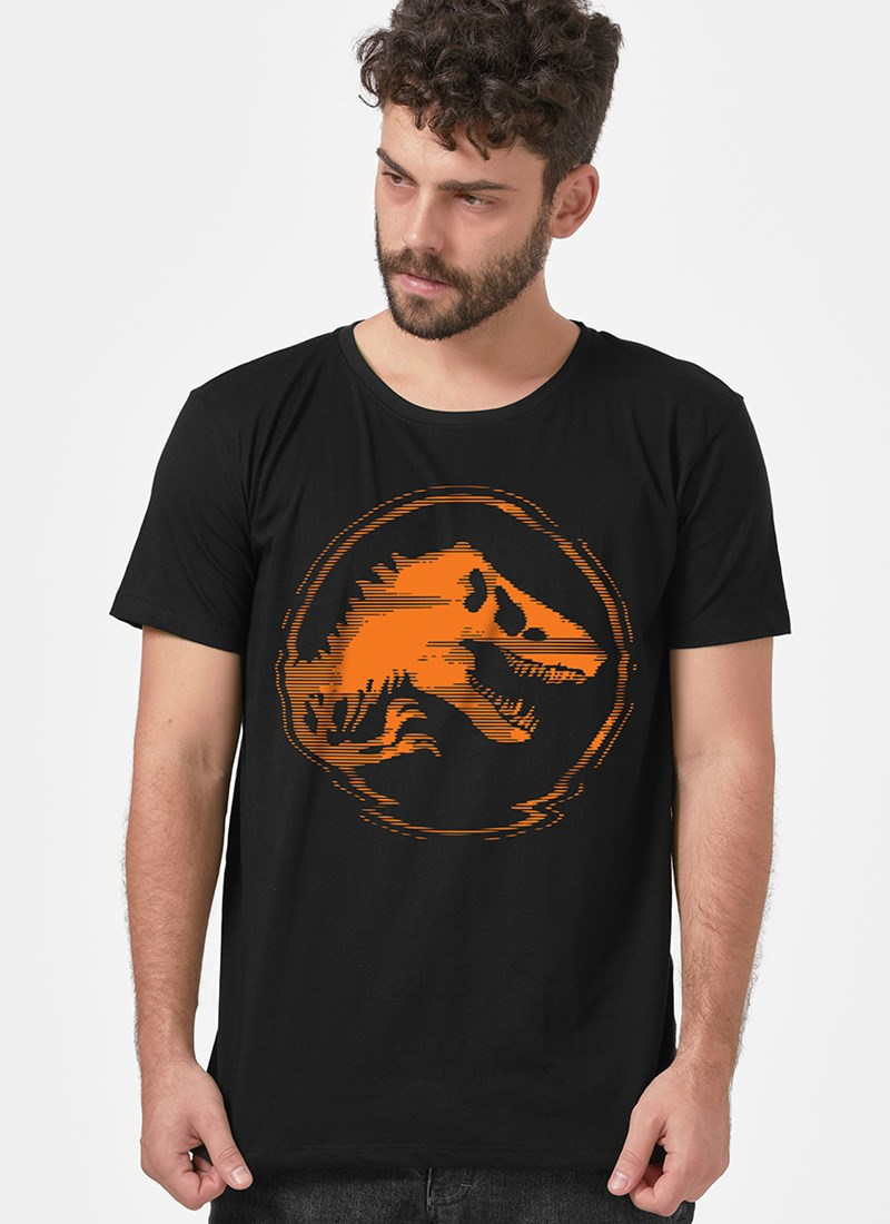 Camiseta Jurassic Park 3D