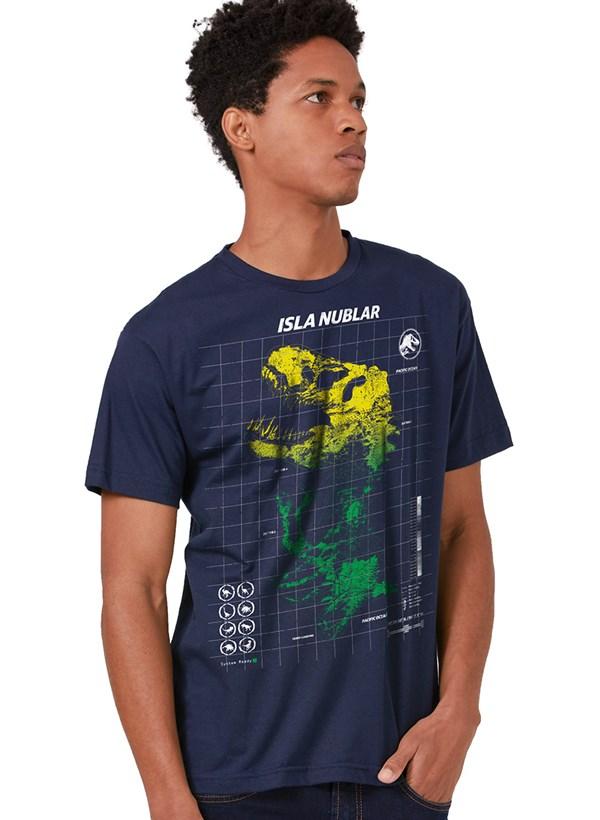 Camiseta Jurassic World Isla Nublar