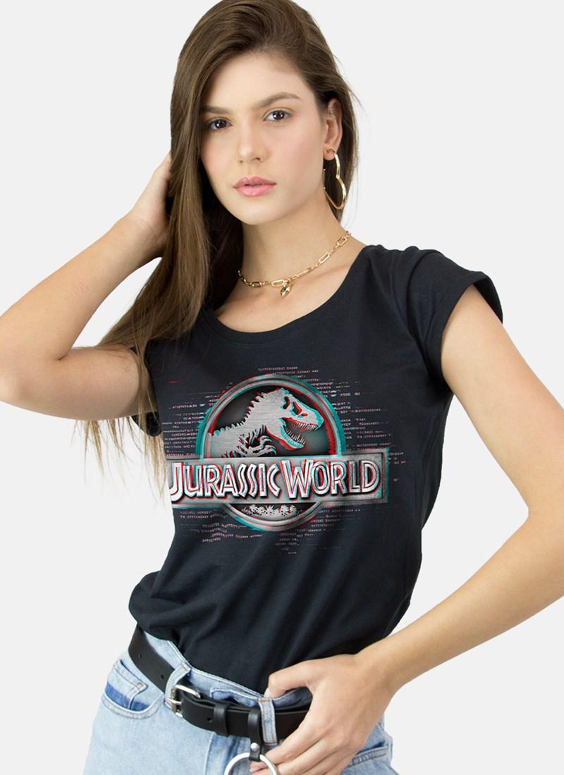Camiseta Jurassic World Logo Technology