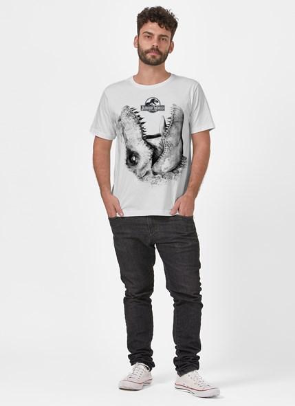 Camiseta Jurassic World T.Rex Mordida