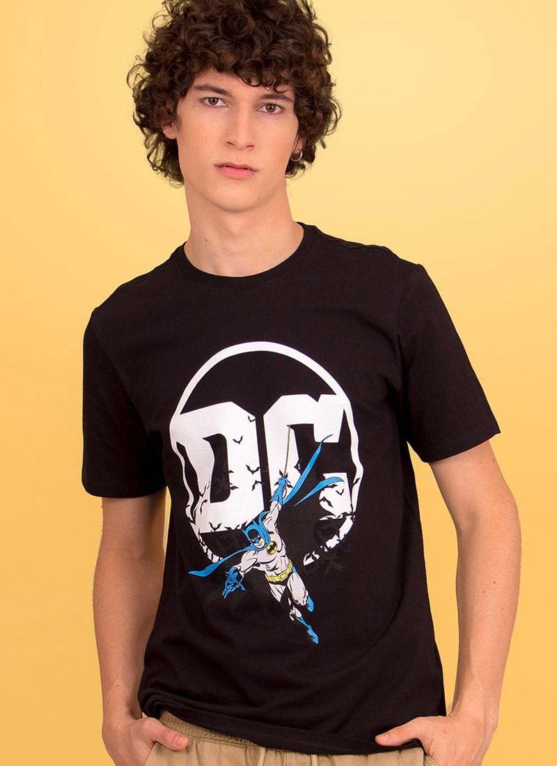 Camiseta Logo DC Batman
