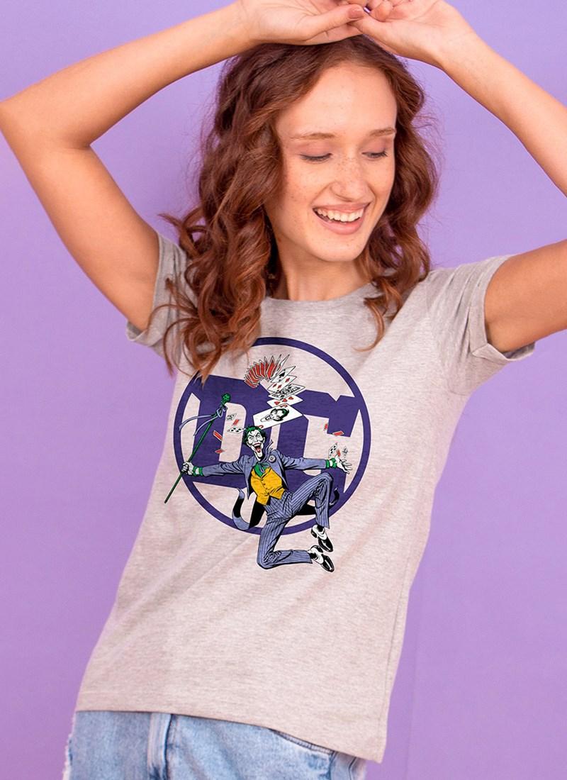 Camiseta Logo DC Coringa