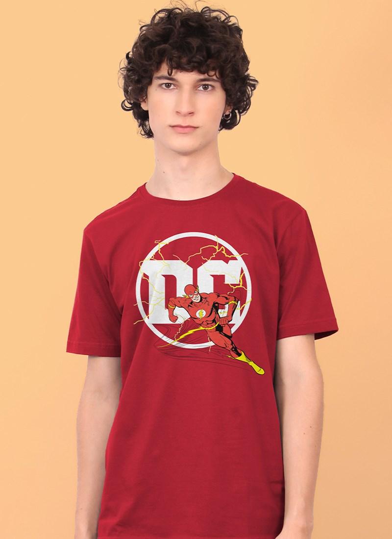 Camiseta Logo DC Flash