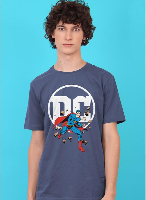 Camiseta Logo DC Superman