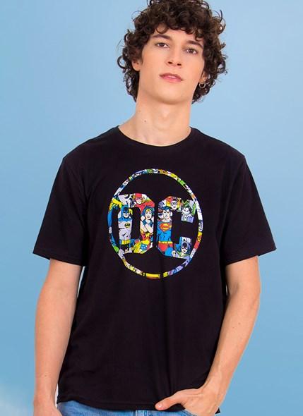 Camiseta Logo DC Universo