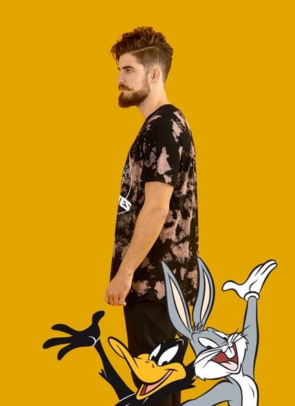 Camiseta Looney Tunes Black and White Party