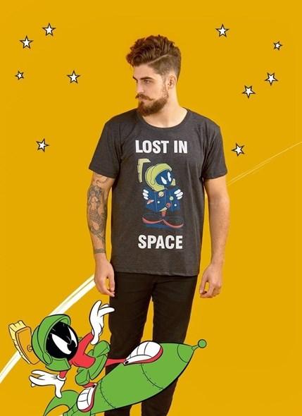Camiseta Looney Tunes Marvin Lost in Space