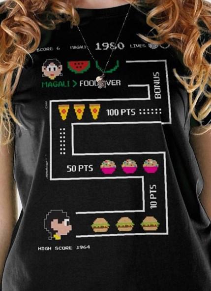 Camiseta Magali 50 Anos High Score