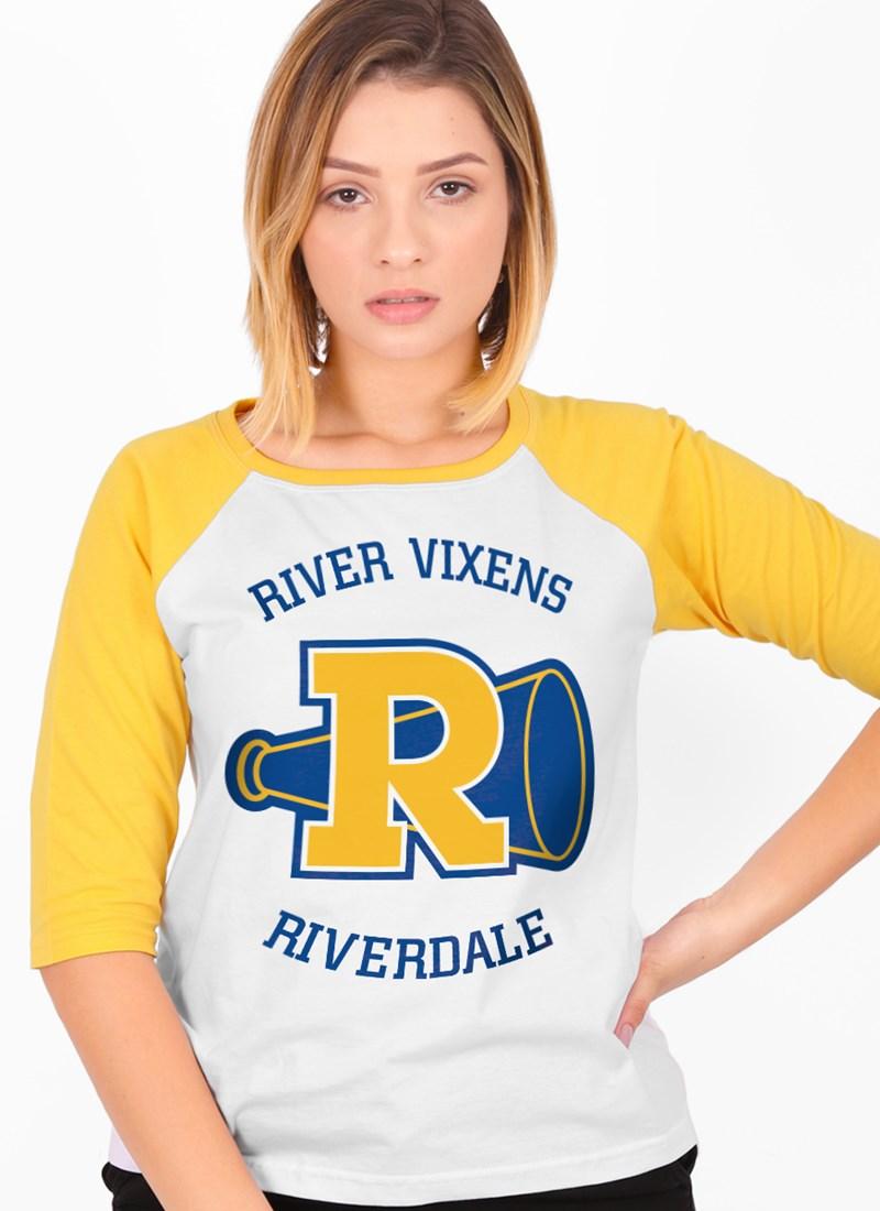 Camiseta Manga 3/4 Riverdale Logo Vixens