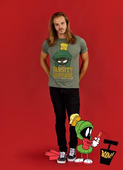 Camiseta Marvin Varsity Martians