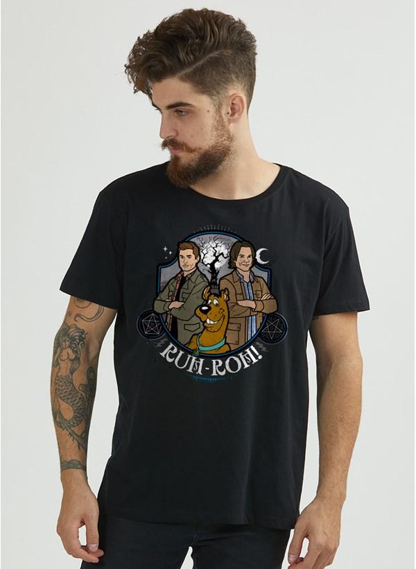 Camiseta Masculina Scoobynatural