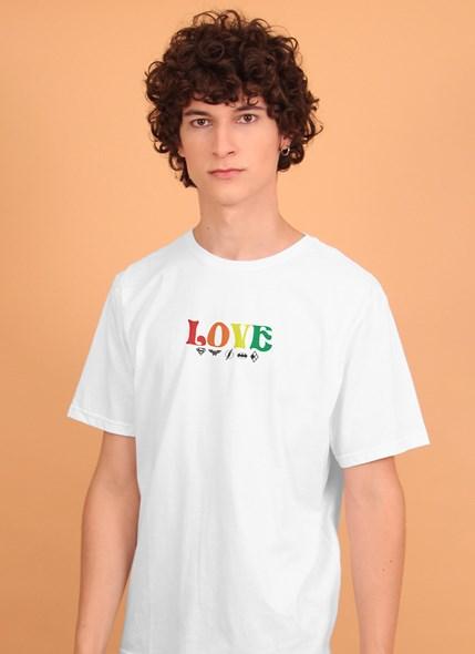 Camiseta Mini Logos Love