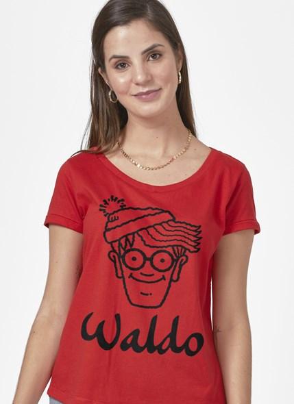 Camiseta Onde está Wally? Face