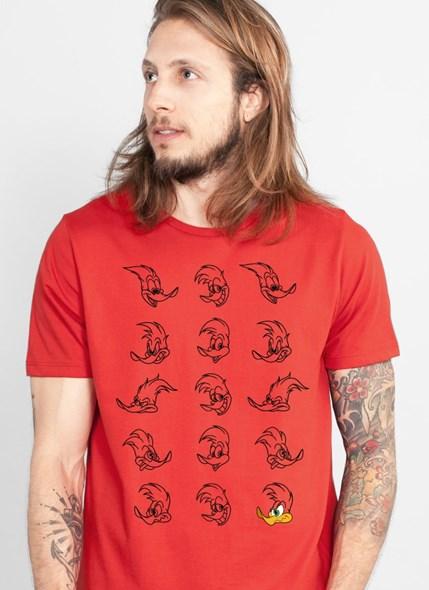 Camiseta Pica-Pau Expressions