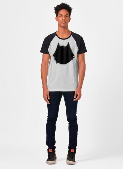 Camiseta Raglan Gato Félix Spray