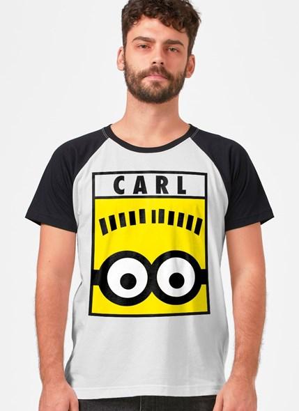 Camiseta Raglan Minions Carl