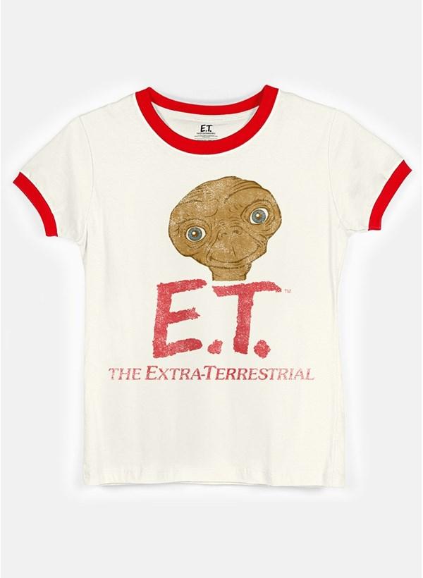 Camiseta Ringer E.T. The Extra-Terrestrial