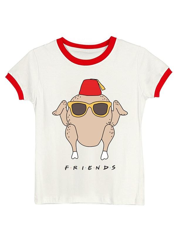 Camiseta Ringer Friends Peru