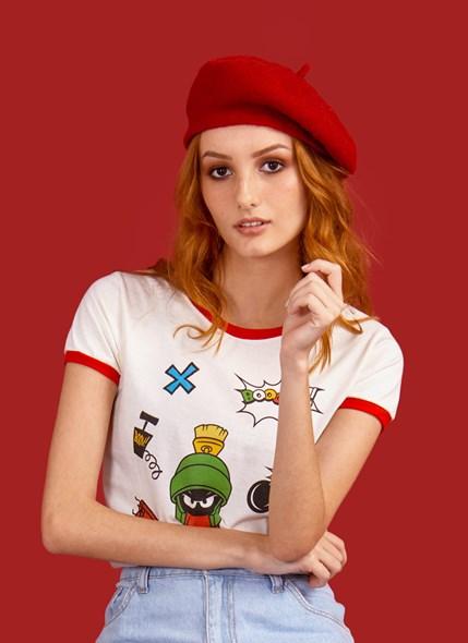 Camiseta Ringer Looney Tunes Marvin Bomb