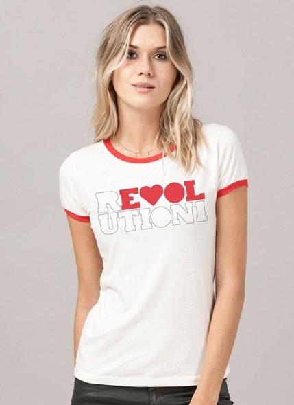 Camiseta Ringer The Beatles Revolution 1