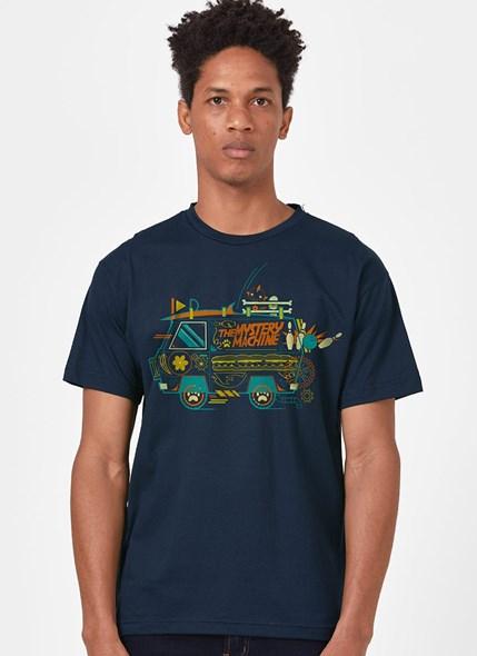 Camiseta Sccoby! Máquina de Mistério Linhas