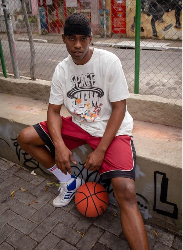 Camiseta Space Jam Basket