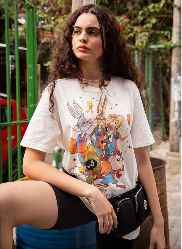 Camiseta Space Jam Stars