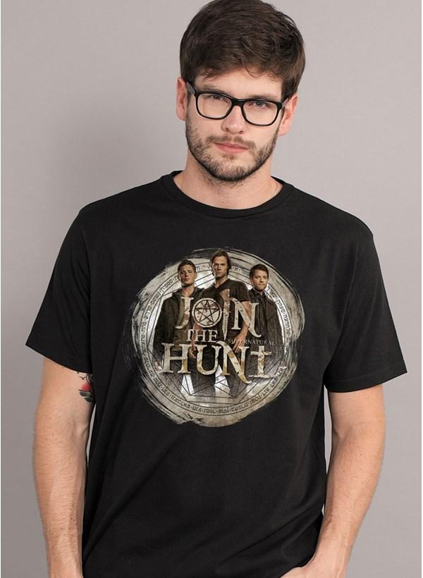 Camiseta Supernatural Join the Hunt